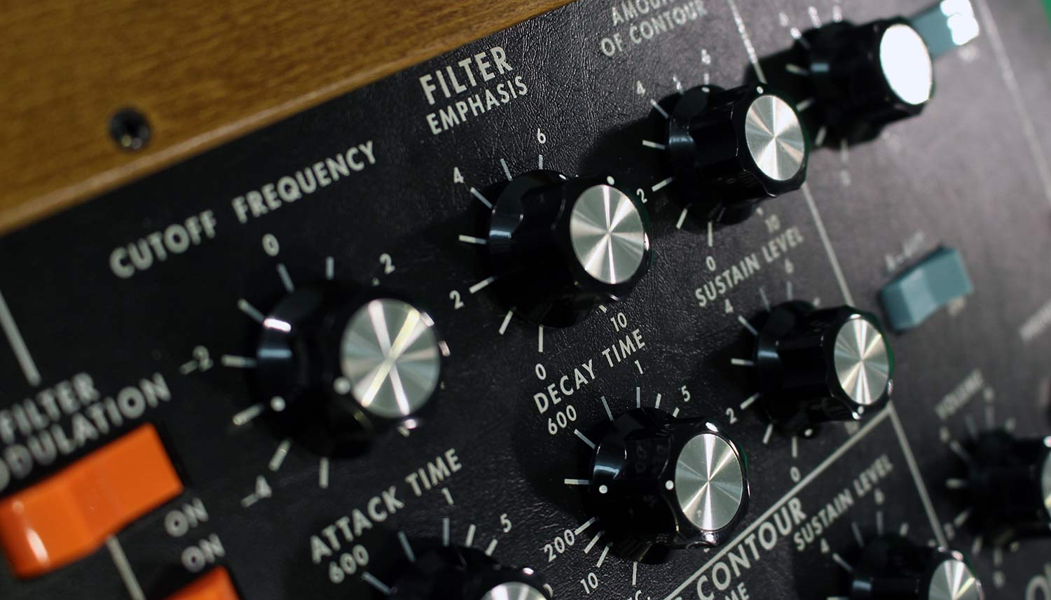 Minimoog neu - Filter & Modifiers