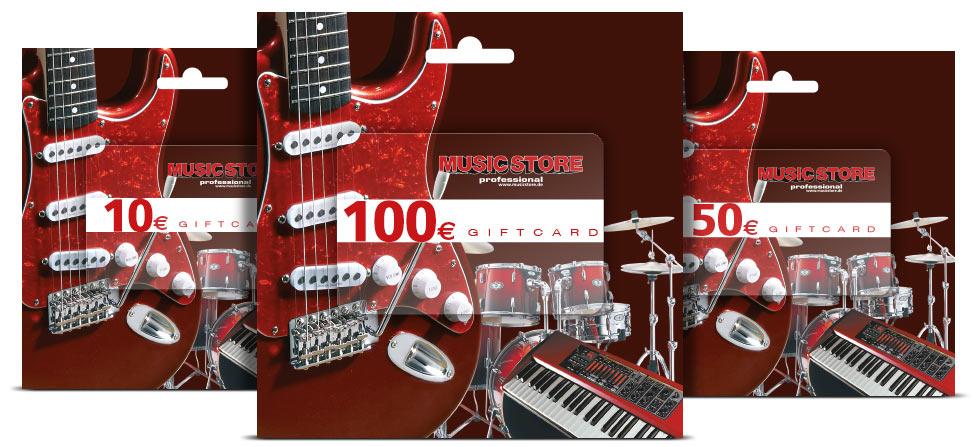 Gutschein Music Store Professional